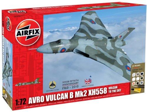 Airfix A50097 1:72 Scale Military Air Power Avro Vulcan XH58 Vulcan to the Sky Gift Set