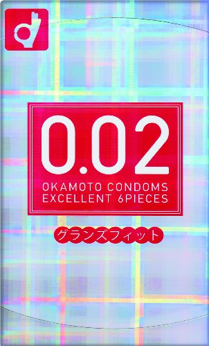 Okamoto 002 EX   Condoms   Grands Fit 6pc (japan import)
