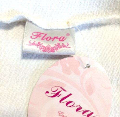 Flora® 50er Jahre Kleid Vintage Retro Reifrock Petticoat Unterrock, 25 Länge Underskirt Gelb