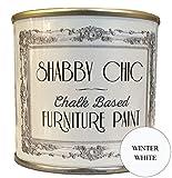 Invierno Blanco Muebles barniz mucho para una Shabby Chic Estilo. 250ml