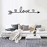 Stickers Muraux, Keepwin Autocollant Maison De Salon Wall Sticker Mural Art Bricolage Fourchette Amovible Décoration De La Maison(60X90cm,Noir)...