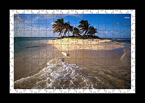 puzzle-style-pre-assembled-wall-print-of-sandy-island-by-lisa-loft