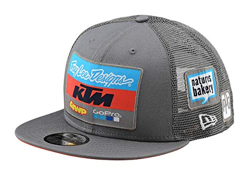 Troy Lee Designs Gorro Snapback KTM Team Gris Default