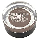 Maybelline New York Eye Studio Color Tattoo Leather 24 HR Cream Gel Eyeshadow, Creamy Beige, 0.14 Ounce by Maybelline New York