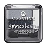 essence Smokey Eye Set Lidschatten NR. 01 - SMOKE Y NIGHT 2,24 g