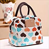 Cute Love Heart Lunch Bag Tote Bag Lunch...
