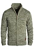 SOLID Pomeroy Men's Cardigan, size:XL;colour:Ivy Green (3797)