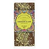 Boella & Sorrisi Tablette Chocolat au Lait Pistache 100 g - Lot de 3
