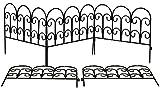 Lot de 5x Chemin et bordure en acier (45cm x 41cm Panneaux)