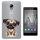 C0467 - Cool Fun Trendy Cute Dog Pug Reading Glasses Pets
