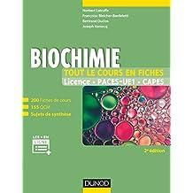 Biochimie - Tout le cours en fiches - 2e éd: 200 fiches de cours, 155 QCM, sujets de synthèse et ressources en ligne