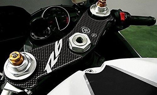 Adhesivo 3D Compatible para Moto Yamaha R6 2006-2015 Protección Placa Horquilla