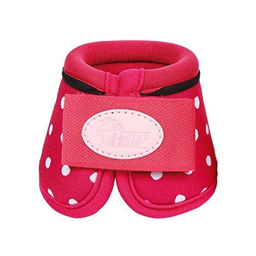 Harrys horse Springglocken Diva pink mit Punkten Minishetty