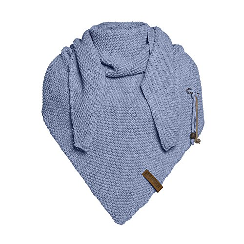 Knit Factory Coco Umhängetuch 190x85 Indigo