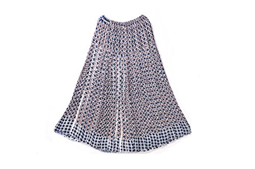 Crapgoos Cotton Multi Color Long skirts for Women & Girls