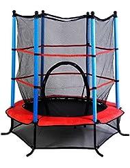 Trampoline juvénile avec un filet de sécurité pour les enfants et les jeunes enfants intérieure / extérieure