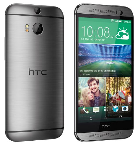 HTC One  M8  16GB 4G Gris - Smartphone  12 7 cm  5    1080 x 1920 Pixeles  Multi-touch  2 3 GHz  Qualcomm Snapdragon  2048 MB