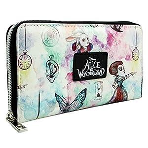 Alice In Wonderland Hinter den Spiegeln Weiß Portemonnaie Geldbörse