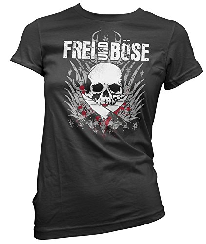 Wotan Textil -  T-shirt - Basic - Donna nero XX-Large