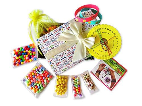 Handarbeits-Set für Kinder - 250 teiliges Ultimatives Emoji Armband Bastelset + einzigartige Geschenkbox für Mädchen ()