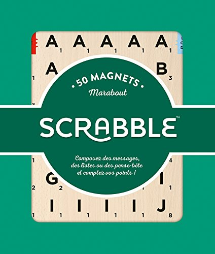 50 Magnets Scrabble par (Magnetic media)