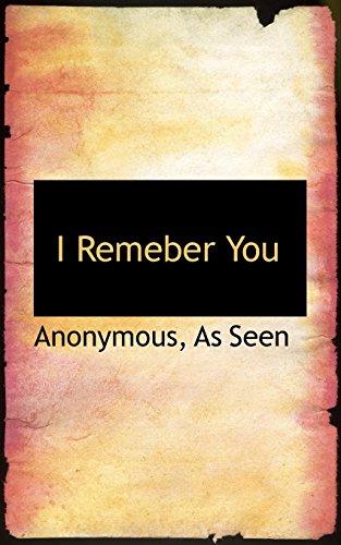 I Remeber You