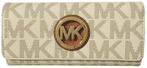 Michael Kors kontinentale Brieftasche aus PVC, für Damen Gr. Einheitsgröße, vanille Michael Kors Handtaschen 2013
