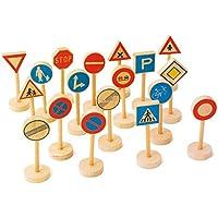 Small Foot Company 7064 - Señales de tráfico, 18 piezas