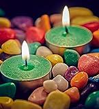 Orlando's Decor Candles Vibrant Green T ...