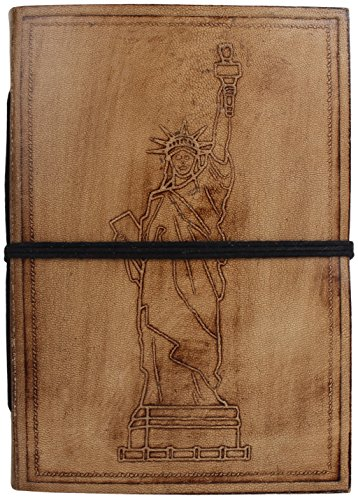 Rustic Town Leather Journal Leather Diary Notebook Gifts for Him Her
