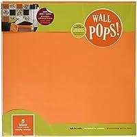 Wallpops Totally Orange Self Adhesive Decorative Blox preiswert