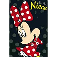 CARLTON DISNEY'S MINNIE MOUSE NIECE BIRTHDAY CARD 419036