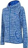 4F Chaqueta de forro polar con capucha chaqueta sudadera para mujer forro polar Jersey Sudadera Forro Polar Blusa Sweater Cuello Nuevo Modelo pld003(Azul,), azul