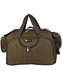 cd31a1bde0 Travel Duffle Bags for Men and Women from N Choice (Brown)