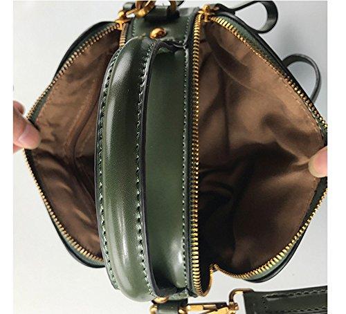 Sacchetto di estate, mini sacchetto del messaggero, borse, sacchetto di clip retro, sacchetto di spalla del sacchetto del messaggero ( Colore : Nero ) Marrone