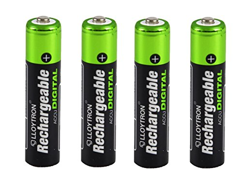 4 x piles rechargeables NiMH Accu Ultra Lloytron Taille AAA 900 mAh