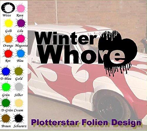 Whore invernale Apps Folien Design-Adesivo per auto a forma di Minion