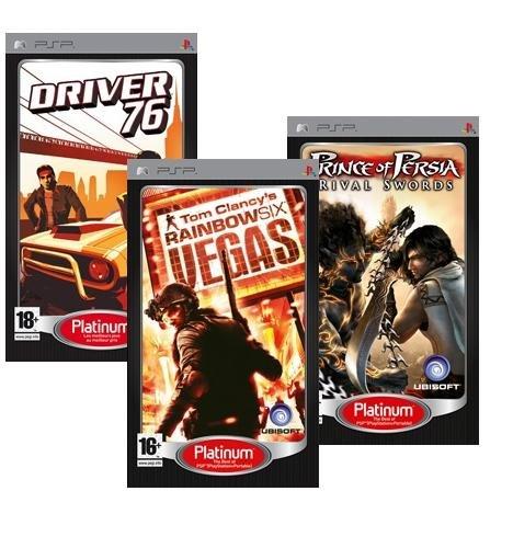 Tripack PSP Rainbow 6Vegas + Prince of Persia 3+ DRIVER 76