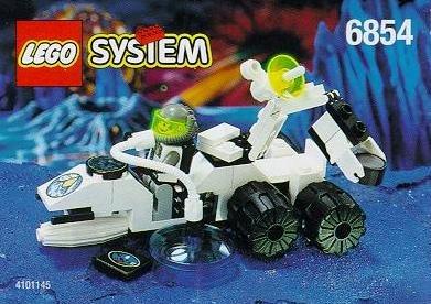 LEGO System Exploriens 6854 Boden-Kontaktor (Lego Mission Mars-sets)