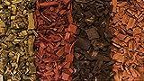 Greenvo corteccia pacciame da giardino in legno chips substrato-4colori