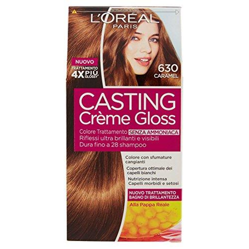 Tinta Per Capelli Casting Creme Gloss Senza Ammoniaca N630 Caramel