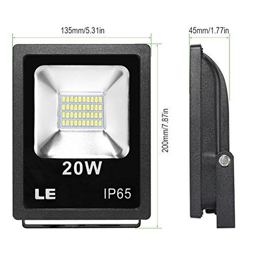 LE-Foco-proyector-Exteriores-LED-20W-200W-Halgeno-Blanco-fro-Resistente-al-agua-jardines-patios-almacenes-etc