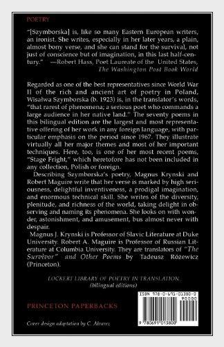 Sounds, Feelings, Thoughts: Seventy Poems by Wislawa Szymborska (Lockert Library of Poetry in Translation)