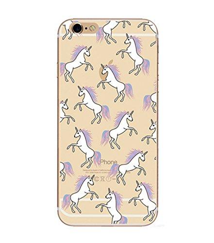 Incendemme Handyhülle für iPhone 7 weiche Schutzhülle Schale Handytasche aus TPU Silikon Handy Hülle cover case Tasche Euti (für iPhone 7, 8) 5