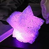 Befied LED Nachtlicht Kinder Bunte PVC Touch Schalter Stimmung Lampe Nachttischlampen LED Stimmungslichter für Babys Zimmer Schlafzimmer Bars Cafés Romantische Orte (Bunte, Stern)