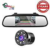 #2: myTVS TRV-37 4.3 Inches Car Rear View Mirror & Reverse Camera with 2yr Warranty-For All Cars