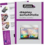 dipos I 2X Schutzfolie klar passend für Dell XPS 13 (9360) Folie Bildschirmschutzfolie