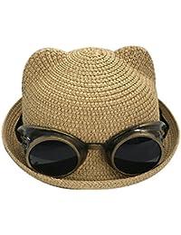 Été Nouveau Chapeau De Paille Enfants Chapeau De Soleil Plage Ombre Du Soleil Casquettes Pêcheur Chapeaux De Bébé