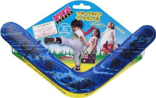 Lang Japan (RANGS) Soft Outdoor Boomerang OZ Blue (japan import)