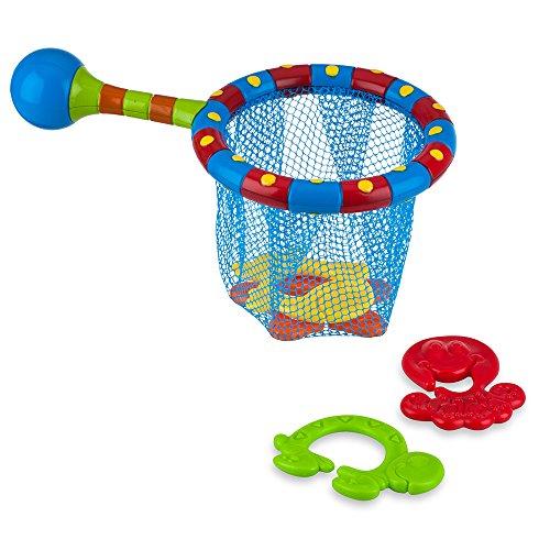 Nûby ID6142 Badespielzeug - Fischernetz - Ab 18 Monate, 5-teiliges Set